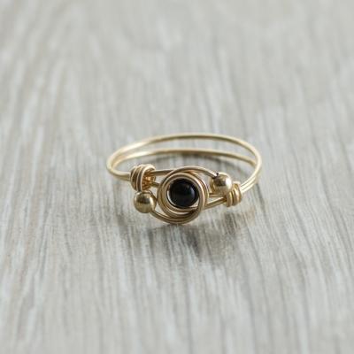 טבעת אבן חן אוניקס