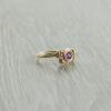 טבעת אבן חן אמטיסט