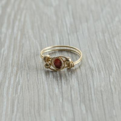 טבעת אבן חן קרניליאן
