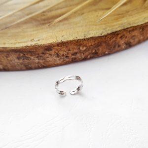 טבעת רגל צמה