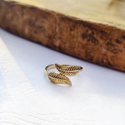 טבעת רגל עלים