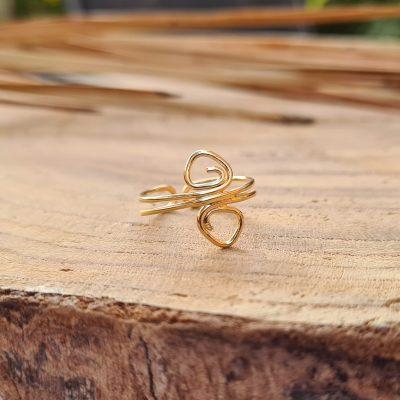 טבעת רגל 2 ספירלות