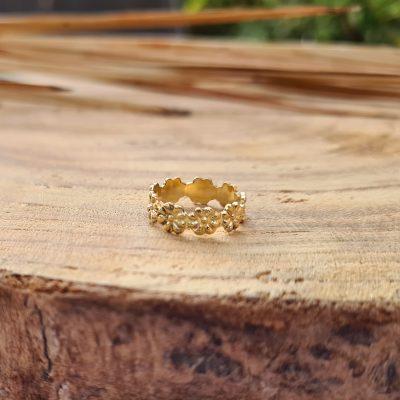 טבעת רגל פרחים