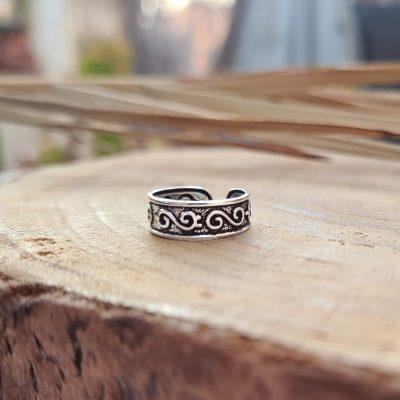 טבעת רגל ספירלה טרייבל