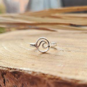 טבעת רגל גל בעיגול